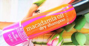 Suchy szampon Macadamia Oil od Bioélixire