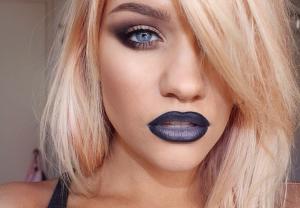 Szarość na ustach, czyli trendy 2016 z Instagrama