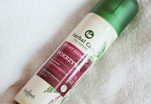 Suchy szampon POKRZYWA z Herbal Care (recenzja)