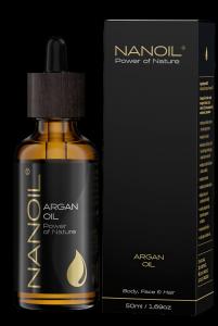 Olejek kosmetyczny Nanoil Argan Oil