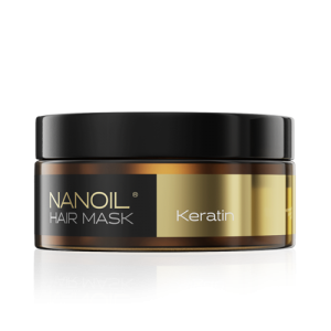 Nanoil. Maska do włosów z keratyną, która NAPRAWDĘ odbudowuje